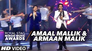 Amaal Mallik & Armaan Malik Creates Magic On The Stage #RSMMA 2016