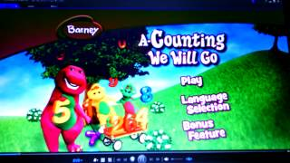 Barney- A-Counting We Will Go