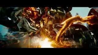 Transformers Fight Scene Sped Up (Revenge of the Fallen, Prime vs Megatron, Starscream and Grindor)
