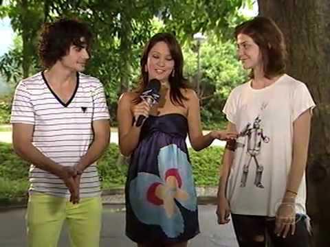 Video Show Fiuk e Cristiana Peres falam sobre o casal Bernardo e Cristiana