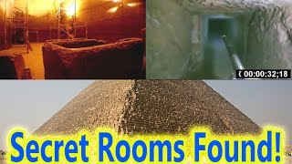 Two Mysterious Rooms Found Inside Egypt