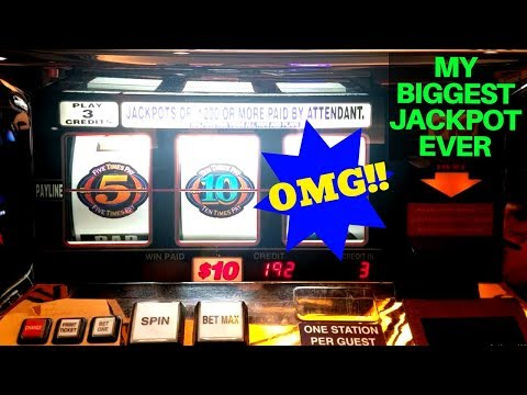 My 💥BIGGEST💥 Handpay Jackpot EVER | High Limit 2X 10X 5X BONUS TIME Slot Machine HUGE JACKPOT !