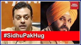 Sambit Patra Slams Navjot Sidhu For Hugging Pak Army Chief #SidhuHugRow