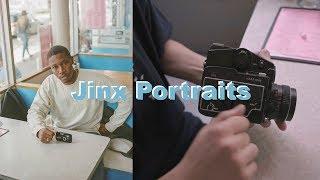 """Shooting Portraits with Brandon """"Jinx"""" Jenkins - Mamiya 645"""