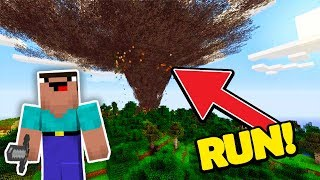 How To Activate NATURAL DISASTERS in Minecraft! (Better Together Update)