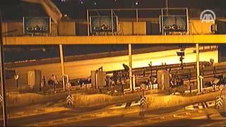 Darbe girişimi gecesi Boğaziçi Köprüsü