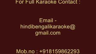 Ki Kare Janabo - Karaoke - Kumar Sanu - Bhalobasar Choan