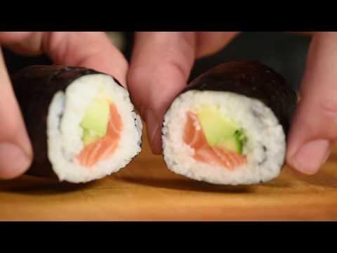 Xxx Mp4 Sushi Maki Med Laks For Nybegynnere 3gp Sex