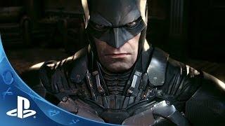 Official Batman: Arkham Knight -- Batmobile Battle Mode Gameplay footage | E3 2014 | PS4