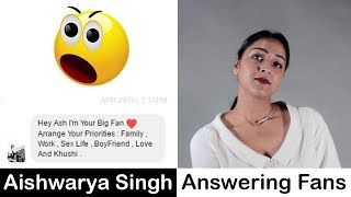 Someone Asked About Her Sex Life | AISHWARYA ANSWERING HER FANS | ARTISTOPEDIA