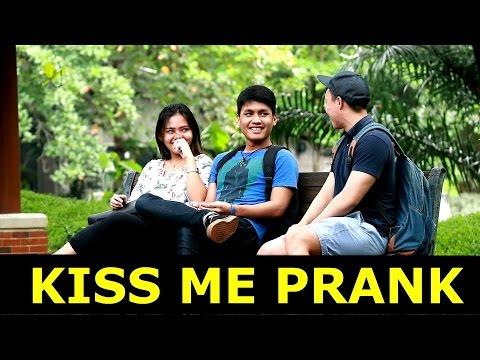 KISS ME PRANK INDONESIA - PRANK INDONESIA