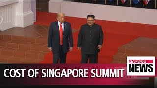 Singapore spent more than US$11 million hosting N. Korea-U.S. summit