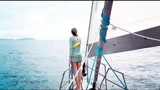 Spotting Land After 25 DAYS AT SEA!! (MJ Sailing - Ep 80)