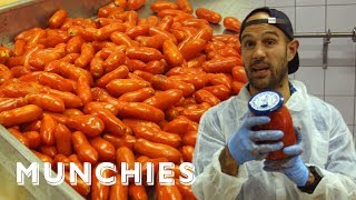 Frank Pinello Meets The Tomato Canning Masters of San Marzano