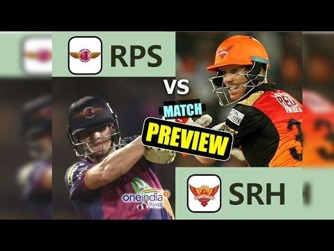 IPL 2017: RPS vs SRH Match Preview & Prediction | वनइंडिया हिन्दी