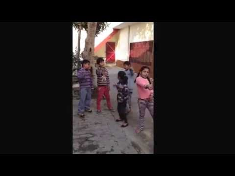 Punjabi desi kids singing