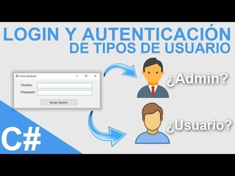 Xxx Mp4 Login Y Autenticación De Tipos De Usuario Con Visual C Y SQL Server 3gp Sex