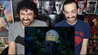 THE LEGO NINJAGO MOVIE Comic Con TRAILER REACTION & REVIEW!!!