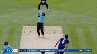NatWest T20 Blast highlights - Surrey make 205-5 against Essex Eagles