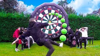SIDEMEN GIANT FOOTBALL DARTS