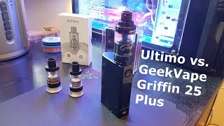 Ultimo vs. GeekVape Griffin 25 Plus | Wickeln | Siffen