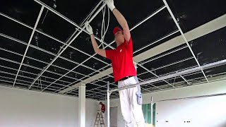 OWA Deckenmontage System S3 / Ceiling installation system S 3