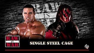WWF Monday Night RAW Steel Cage Match: British Bulldog vs. Kane