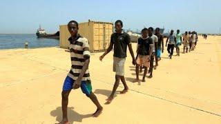 الرئيس الفرنسي يعلن عن إنشاء مراكز في ليبيا لدراسة طلبات اللجوء