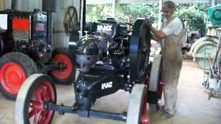 Starting a 1923 HL12 Lanz Bulldog Tractor - Part 1