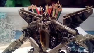 Transformers starscream trailer stop motion