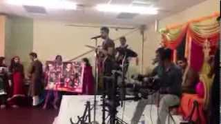 Performing Live with my band at a Mehndi