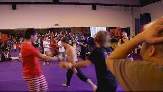 7 on 7 Martial Arts Tricking Battle   Guthrie, Vellu, Le... VS Emig, Marinas, Farley...