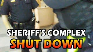 STOCKTON SHERIFFS Gets SHUT DOWN - Man Asks For Internal Affairs - NATE DIAZ Shows Up