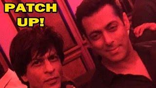 Shahrukh Khan & Salman Khan's Patch Up Creates Buzz | Bollywood News