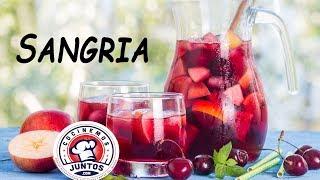Receta de Sangria de fresas y frutas