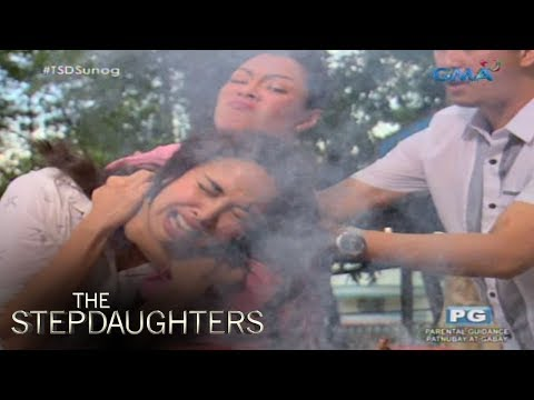 The Stepdaughters: Pagsunog ni Luisa sa mukha ni Mayumi