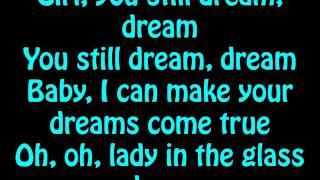 Chris Brown - Lady In A Glass Dress (Lyrics On Screen)