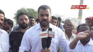 YCP MLA Anil Kumar Yadav Visited Bodigadi Thota @ Nellore | ACT24X7HDNEWS