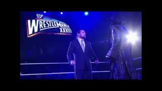 WWE: Undertaker 35th Theme Song -- 2012 return Theme Song -- (bells + live cheers)