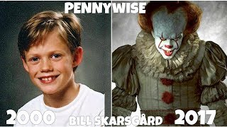 It actors, Before and After they were Famous