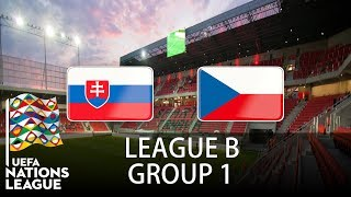Slovakia vs Czech Republic - 2018-19 UEFA Nations League - PES 2019