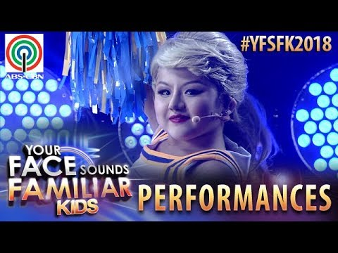 Your Face Sounds Familiar Kids 2018: Chunsa Jung as Taylor Swift | Shake It Off
