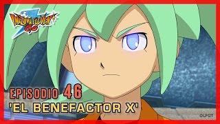 Inazuma Eleven Go Chrono Stones - Episodio 46 español «¡El Benefactor X!»