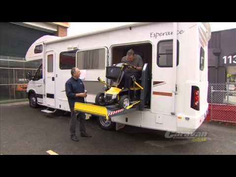 Wheelchair friendly motorhome by Winnebago