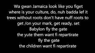 Tarrus Riley & Kabaka Pyramid -- Fly Di Gate Lyrics