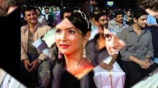 Telugu actor Mahesh Babu at the film fare awards function