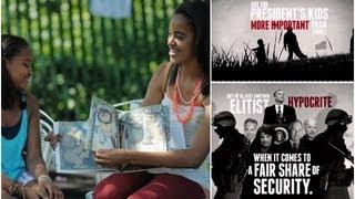 Insane NRA Ad Targets Obama's Children