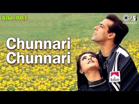 Chunnari Chunnari - Biwi No 1 | Salman Khan & Sushmita Sen | Abhijeet & Anuradh Sriram