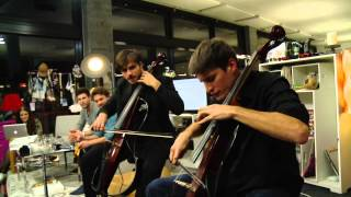 2CELLOS - We Found Love (Live at joiz)