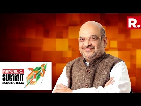 BJP Chief Amit Shah Speaks To Arnab Goswami At Republic Summit 2018 Full Video